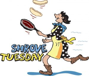 Shrove Tuesday February 13